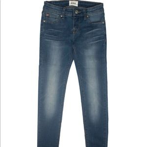 Hudson Skinny Jeans W/Flap Back Pockets